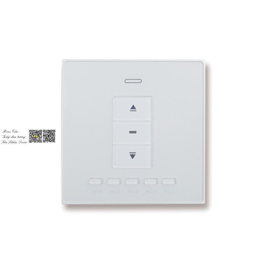 Điều khiển dán tường rèm tự động | Phụ kiện màn cửa tự động Bình An Rèm tự động HCM