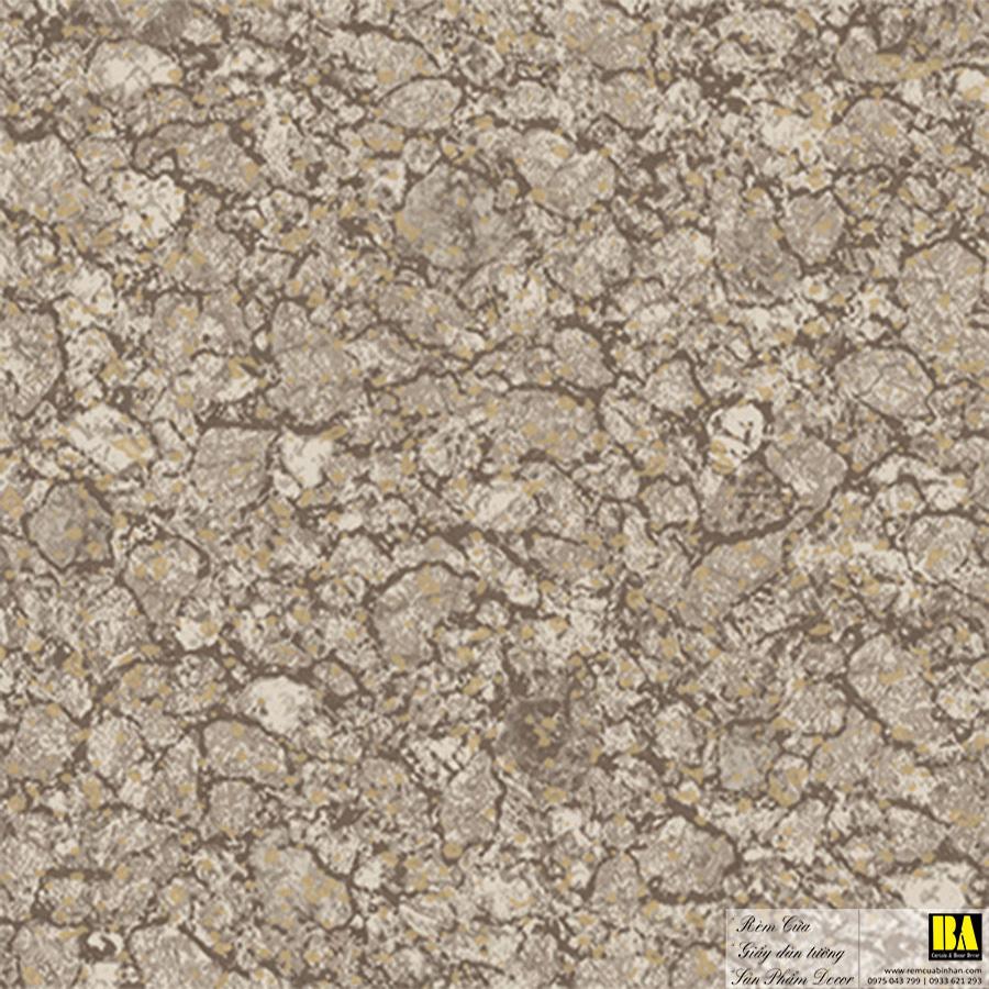 Giấy dán tường giả đá mài Hàn Quốc | giấy dán tường đẹp TP HCM