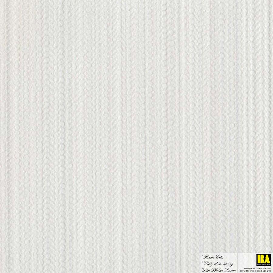 Giấy dán tường phòng khách vân vải sọc nhuyễn | giấy dán tường Hàn Quốc