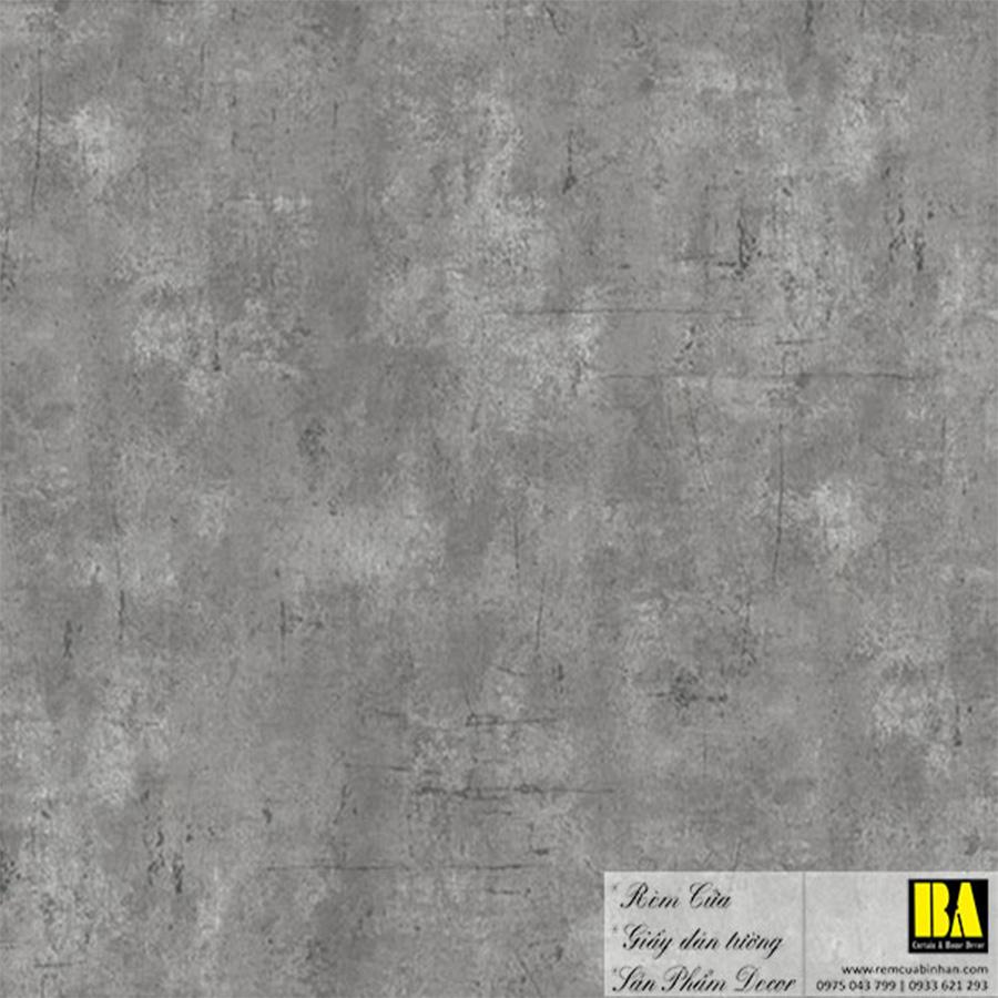 Giấy dán tường xi măng hiện đại   giấy dán tường giả xi măng Hàn Quốc