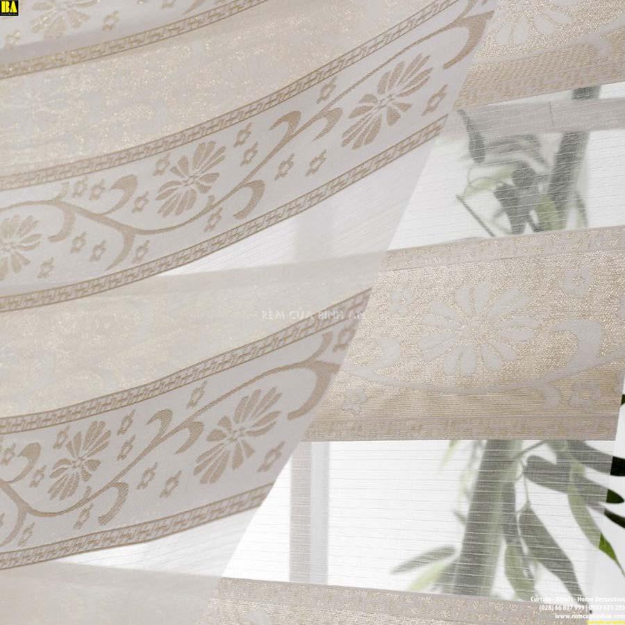 Màn cầu vồng cao cấp Rèm cửa sổ đẹp Rèm cầu vồng hoa văn cổ điển ZKSW