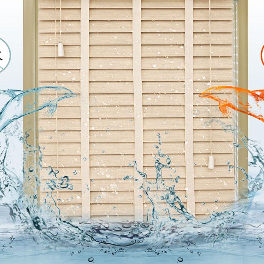 Màn Nhựa giả Gỗ Nhựa PS Cao Cấp Màn Cửa Sổ Rèm Văn Phòng SNW07 Nhập khẩu KOREA
