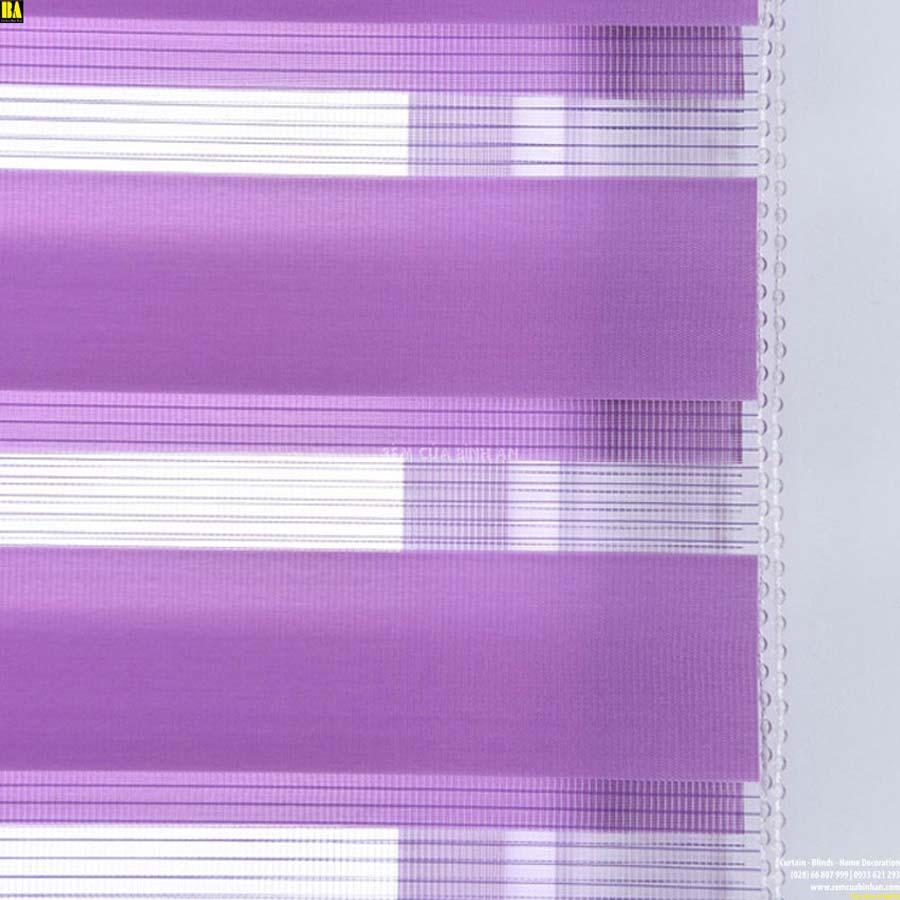 Rèm cửa sổ đẹp Màn cầu vồng Hàn Quốc Màn cửa đẹp Màu Tím BAZB07