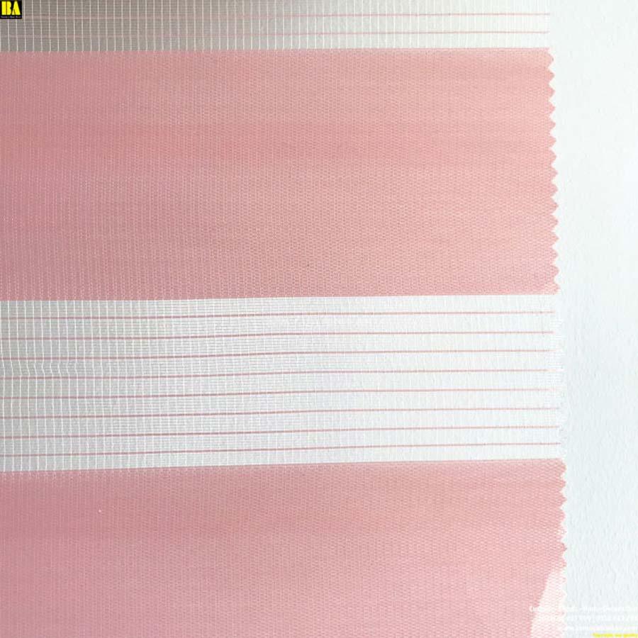 Rèm cửa sổ đẹp Màn cầu vồng Hàn Quốc Màn cửa đẹp Màu hồng phấn BAZB06