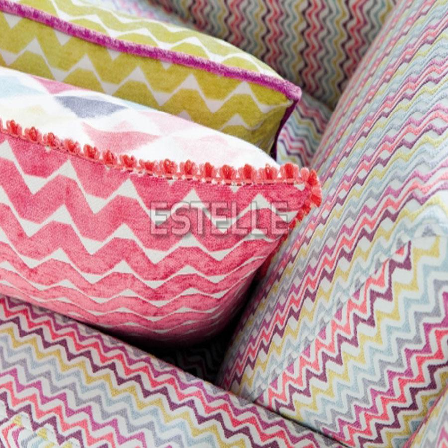 Rèm cửa vải Bỉ Màn cửa Châu Âu cao cấp 100% Cotton BOHEMIA