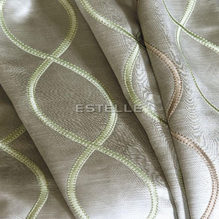 Rèm cửa vải Bỉ Màn cửa Châu Âu cao cấp 79% POLYESTER, 21% LINEN ART NOUVEA