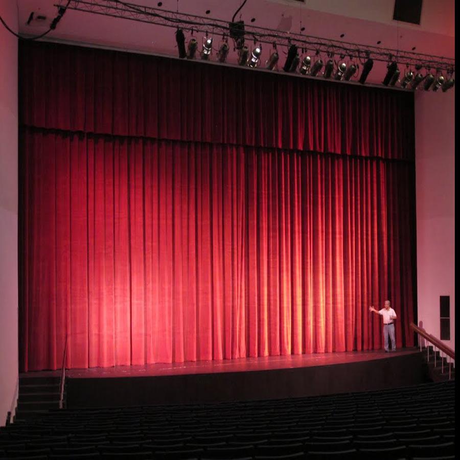 Rèm sân khấu tự động   Động cơ rèm sân khấu tự động Bình An