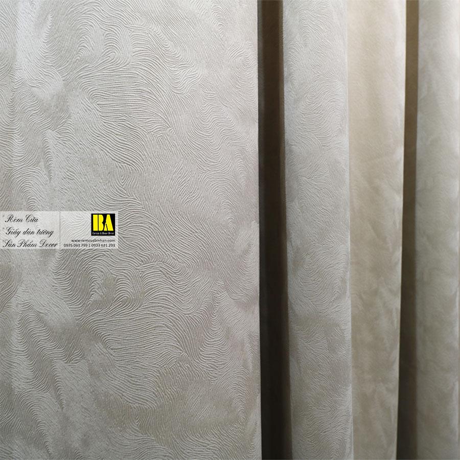 Rèm Tự Động Màn Cửa Vải May Xếp Ly Động Cơ Rèm Vải Tự Động BATD01