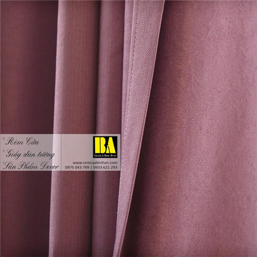 Rèm vải màu tím | Màn cửa trơn một màu hiện đại
