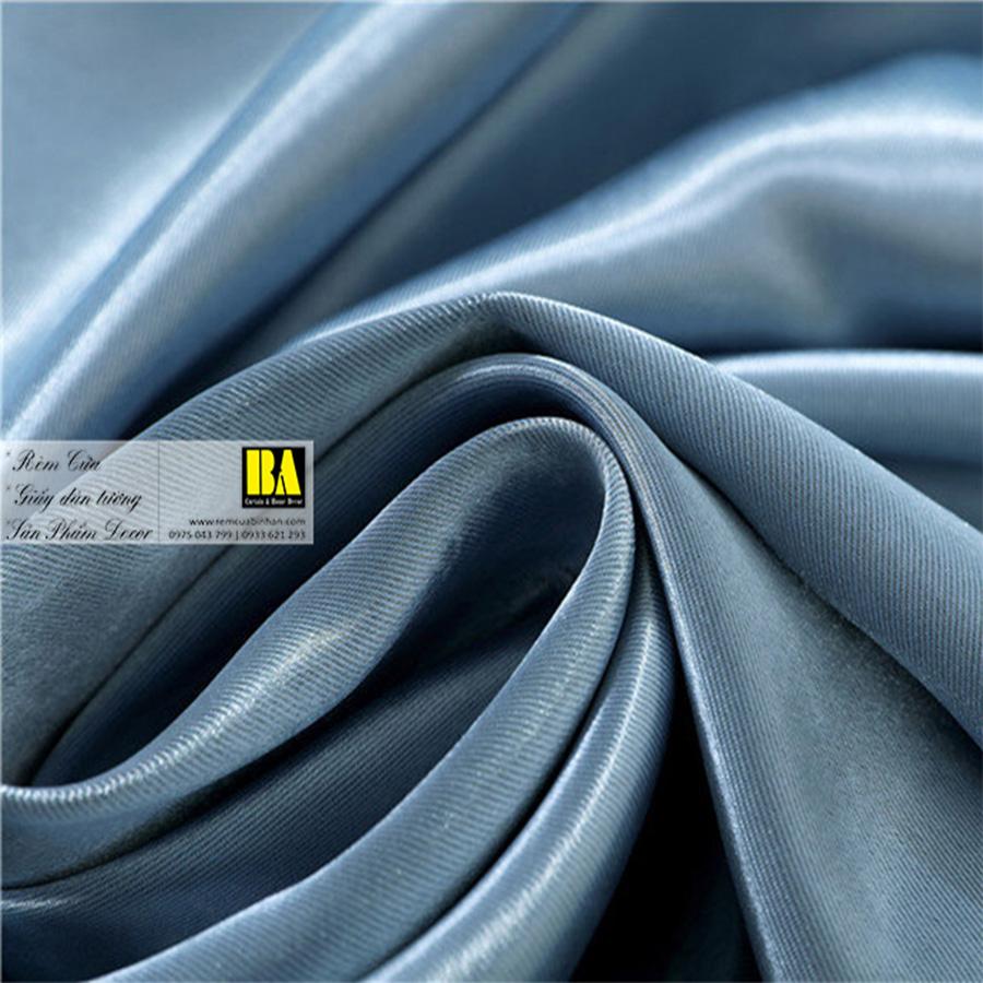 Rèm vải một màu gấm satin chống nắng khổ vải lớn | Màn cửa hiện đại TP HCM