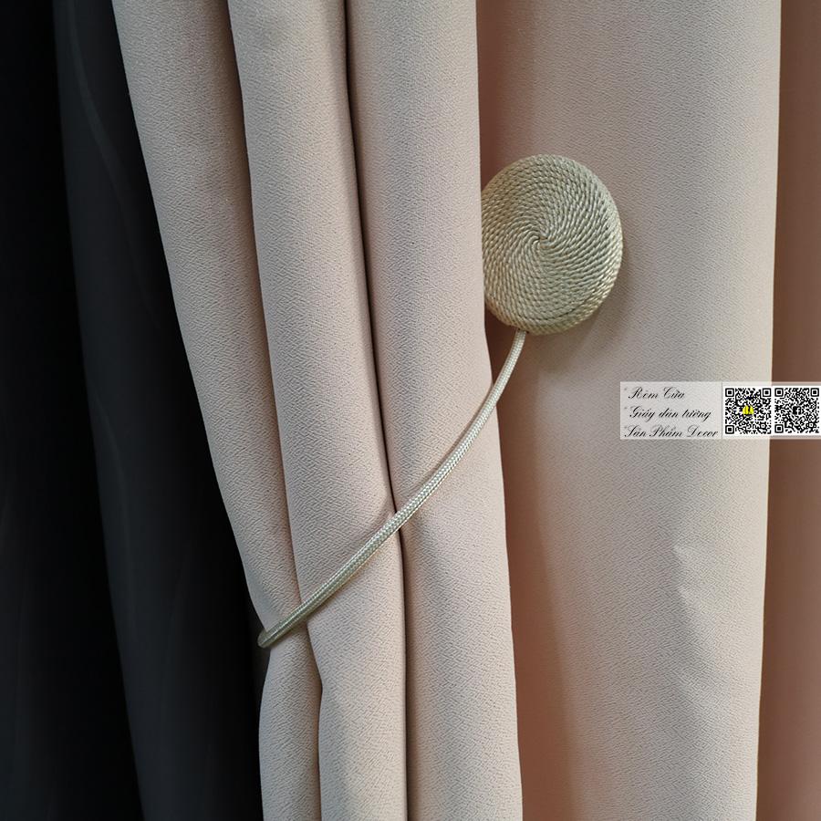 Rèm vải một màu hiện đại | Màn cửa phòng khách, Rèm phòng ngủ HCM