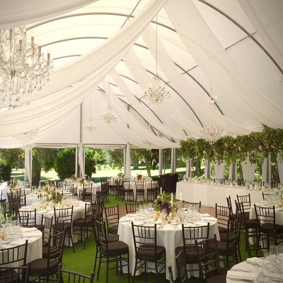 Rèm voan thả trần trang trí hội nghị, spa, tiệc cưới | Rèm thả trần trang trí cao cấp Bình An TR02