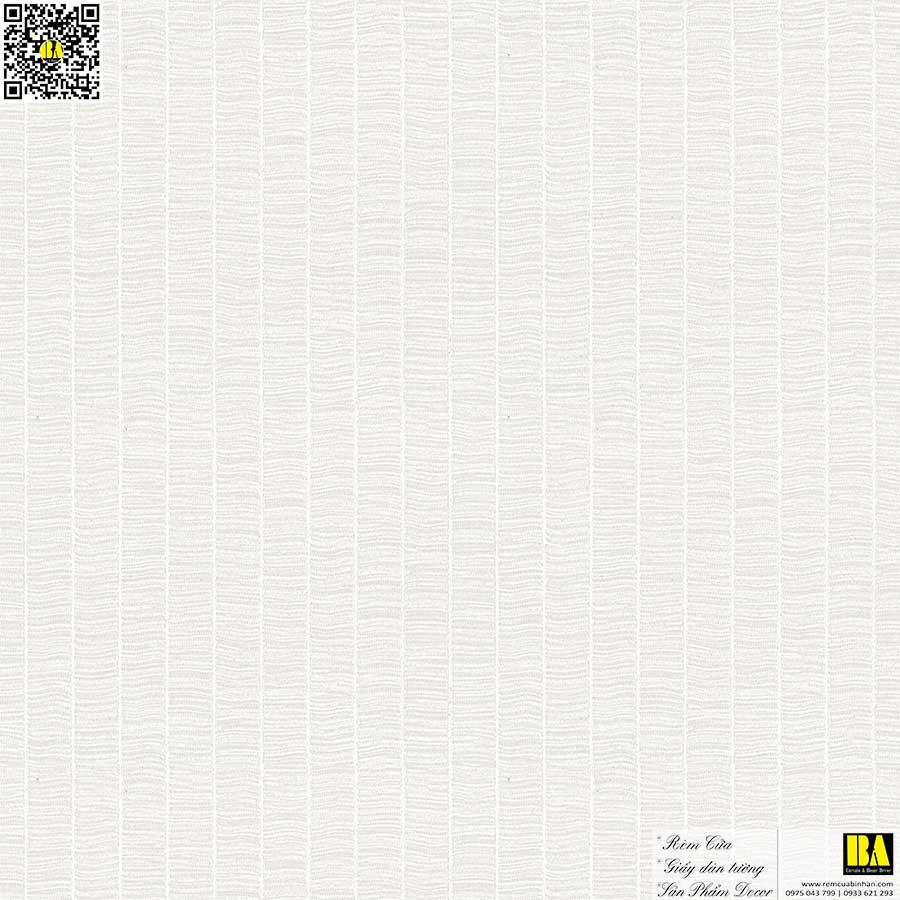 Vải dán tường vân vải sọc dọc phong cách Bắc Âu | Vải dán tường sợi thủy tinh cao cấp Bình An